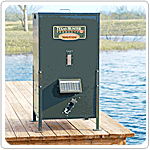 lb. Capacity Fish Feeder