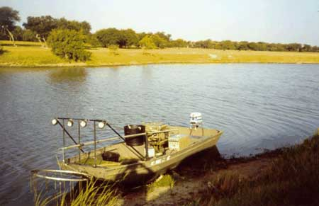 Electrofishing lake and pond management
